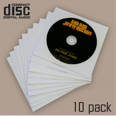 CD Spare Inner Disc Sleeves (10, 100, 200 and 500 Packs Available)