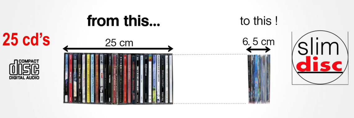 CD Space Saving Storage